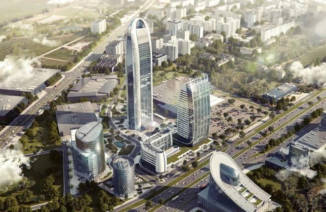 Нов обособен район с небостъргачи по бул. Цариградско шосе